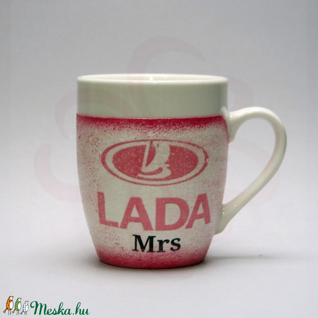 LADA ( ZSIGULI ) kávés csésze ; Lada autó rajongóknak - Meska.hu