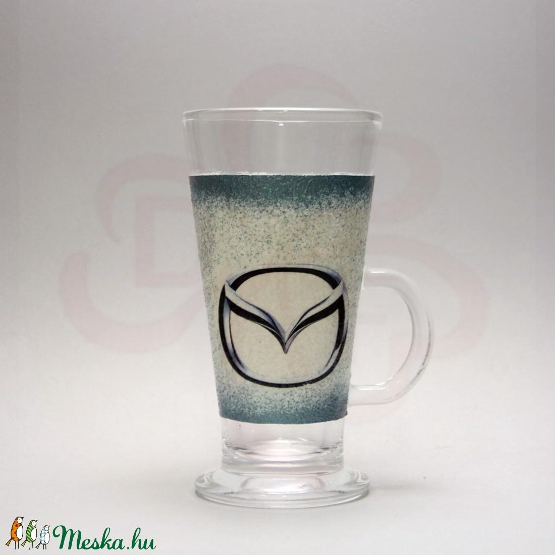 MAZDA kávés pohár kávé imádóknak ; Mazda autó rajongóknak - Meska.hu