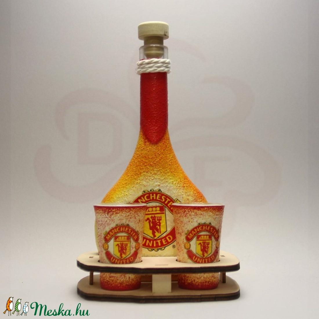 Manchester United italos szett; futball szurkolóknak, születésnapra, névnapra, karácsonyra - Meska.hu