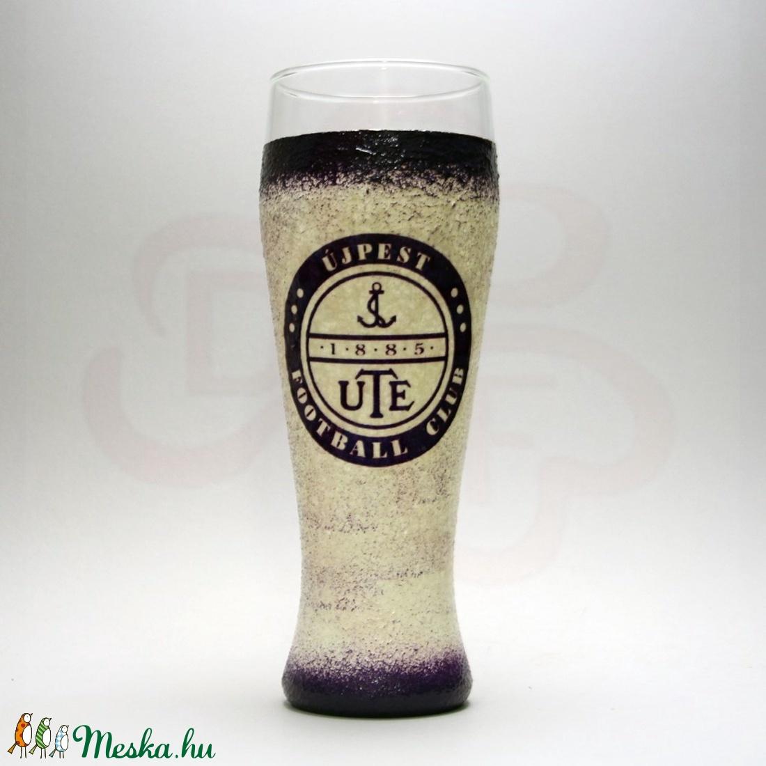 UTE sörös pohár ; UTE foci szurkolóknak - Meska.hu