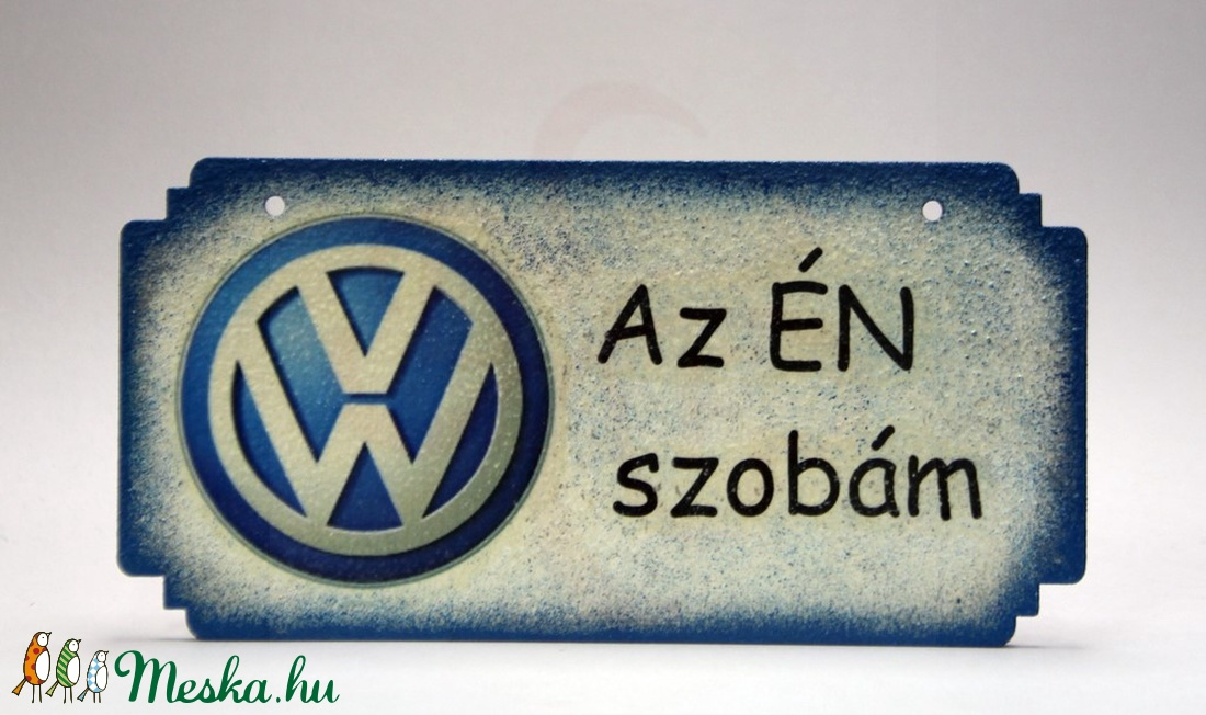 VOLKSWAGEN fatábla ; Volkswagen autód fényképével is! (decorfantasy) - Meska.hu