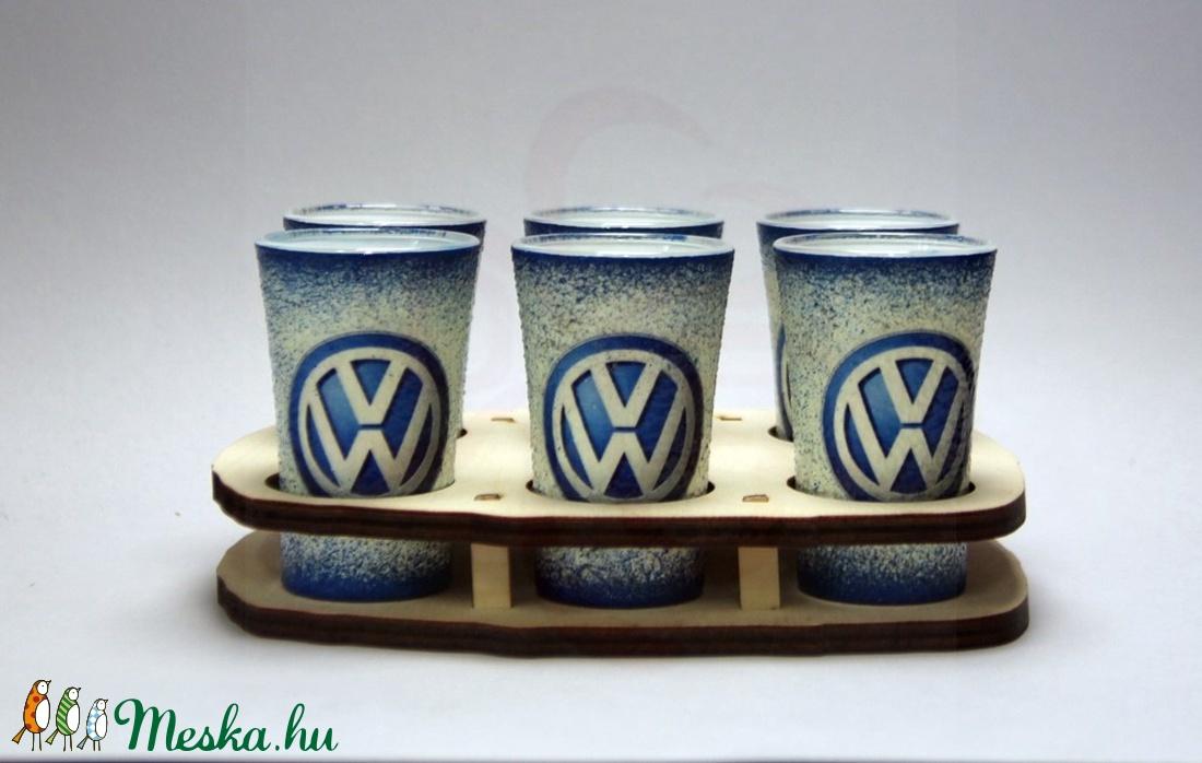 VOLKSWAGEN pohárszett ; Volkswagen autód fényképével is! (decorfantasy) - Meska.hu