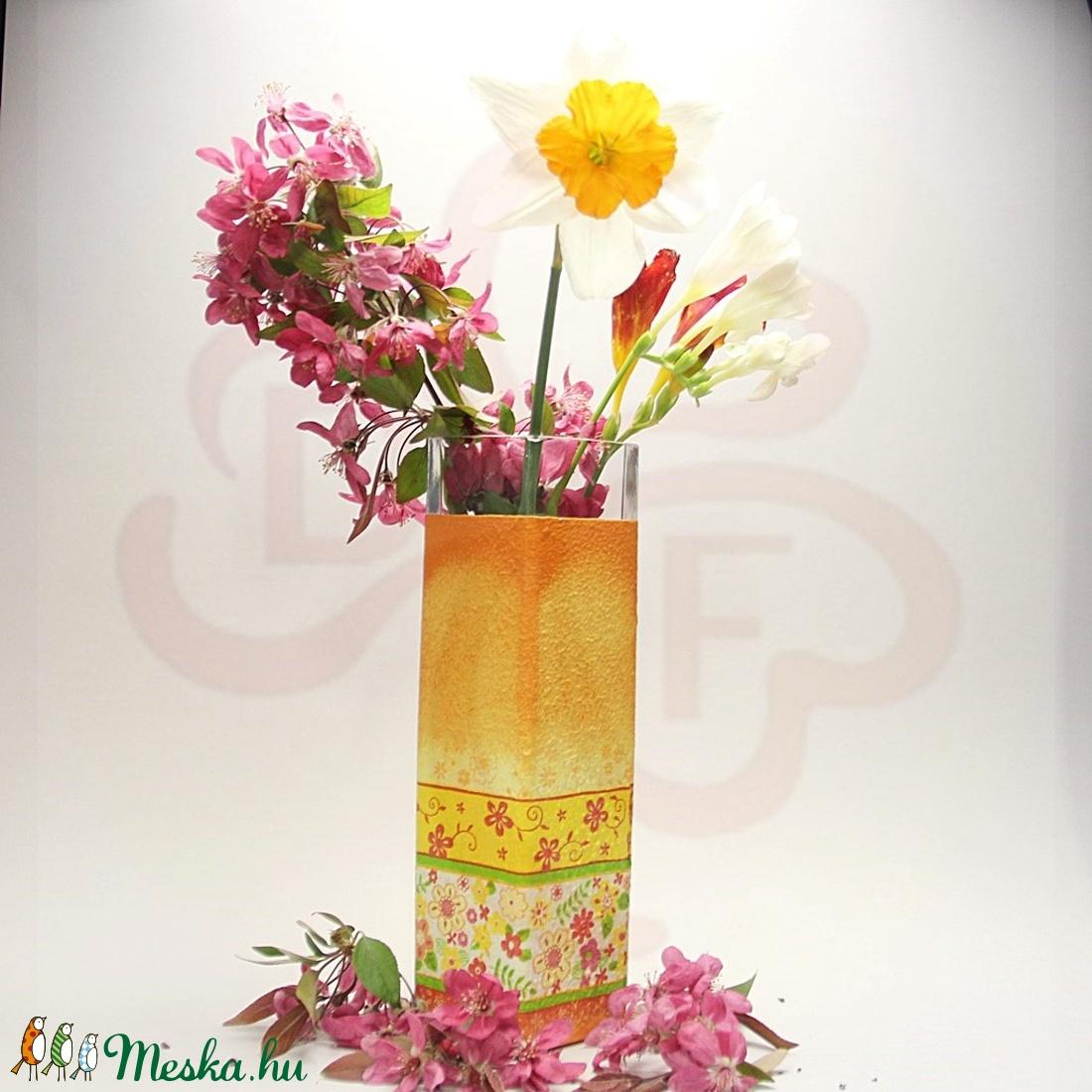 ANYÁK NAPI VÁZA, ANYA, MAMA - képpel, felírattal is - anyák napi ajándék édesanyáknak - otthon & lakás - dekoráció - váza - Meska.hu
