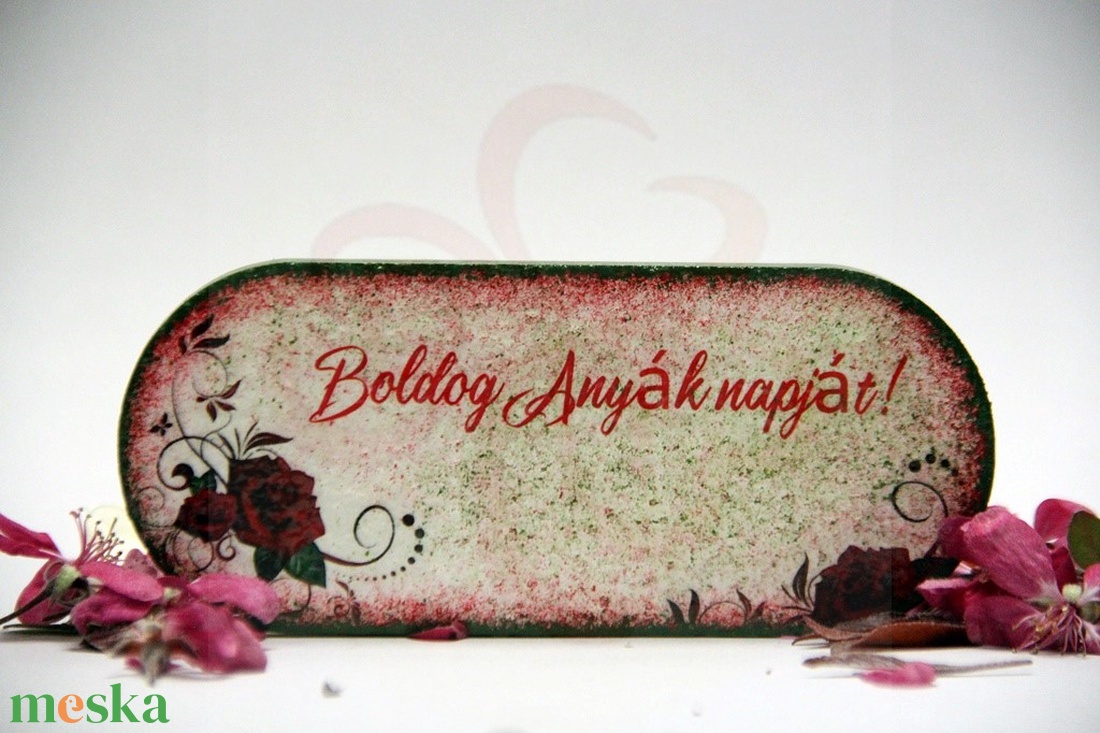 Anyák napjára HŰTŐMÁGNES - ANYA, MAMA - képpel, felírattal is  - Meska.hu