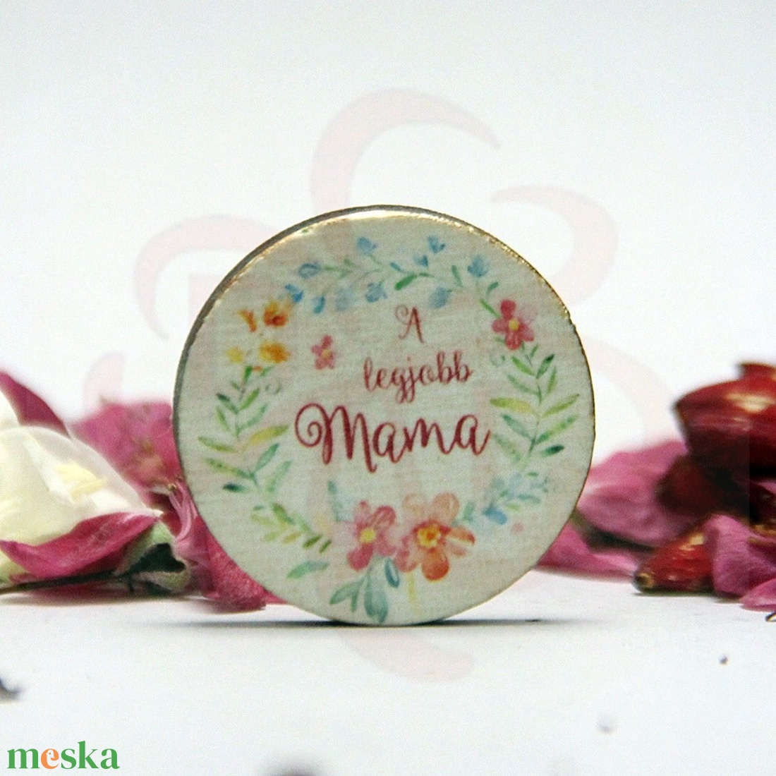 Anyák napja HŰTŐMÁGNES - ANYA, MAMA - képpel, felírattal is  - Meska.hu