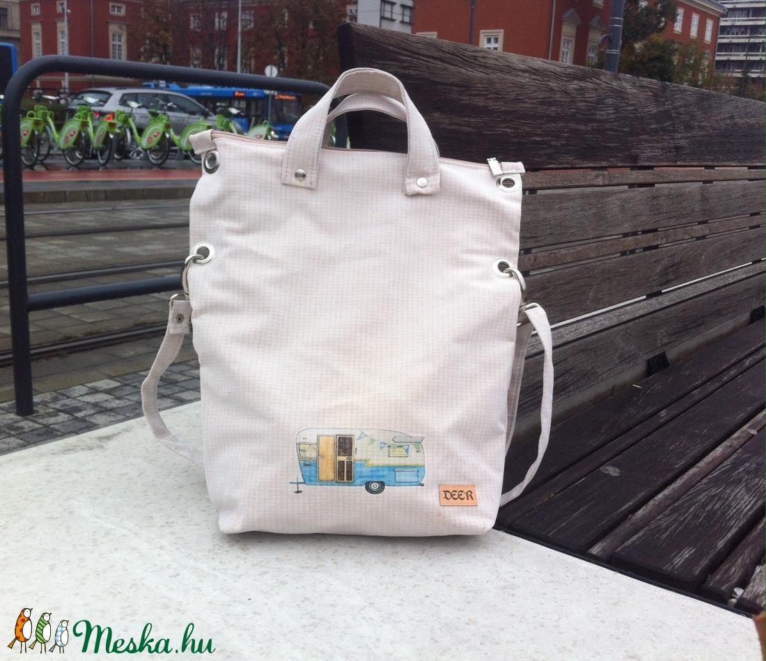 Lakókocsis táska 2 az 1-ben (deer) - Meska.hu 423e9d9185