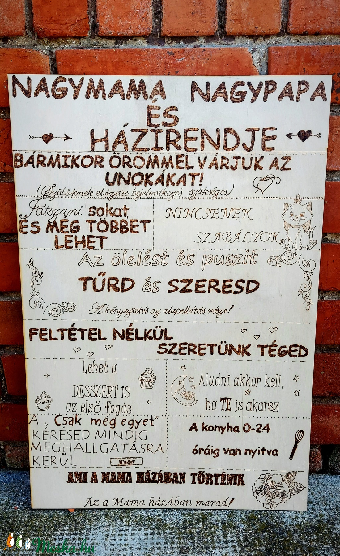Nagymama és Nagypapa házirendje (dekany91) - Meska.hu