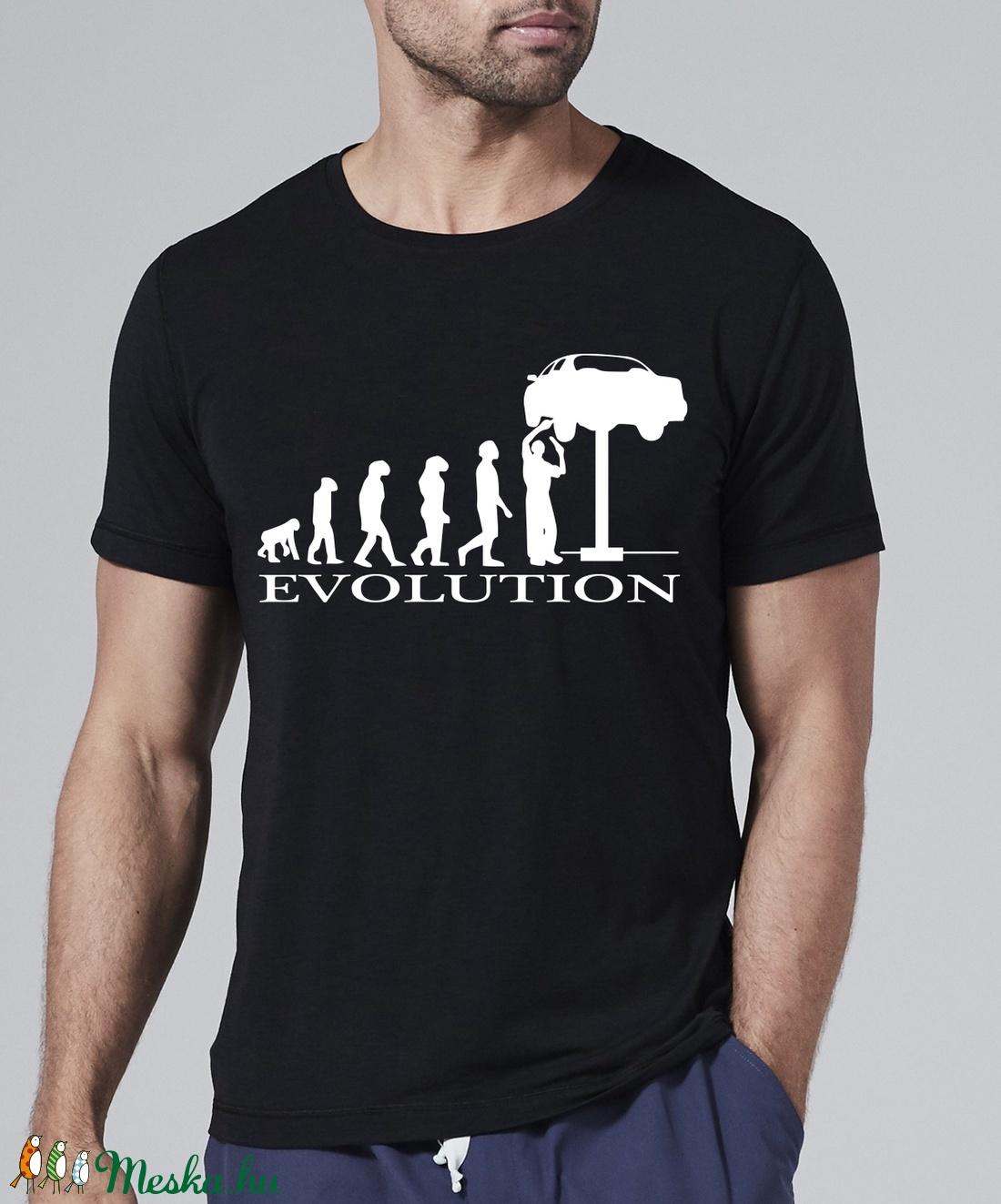 Autószerelő evolúció - Kézzel készített f6359b2871
