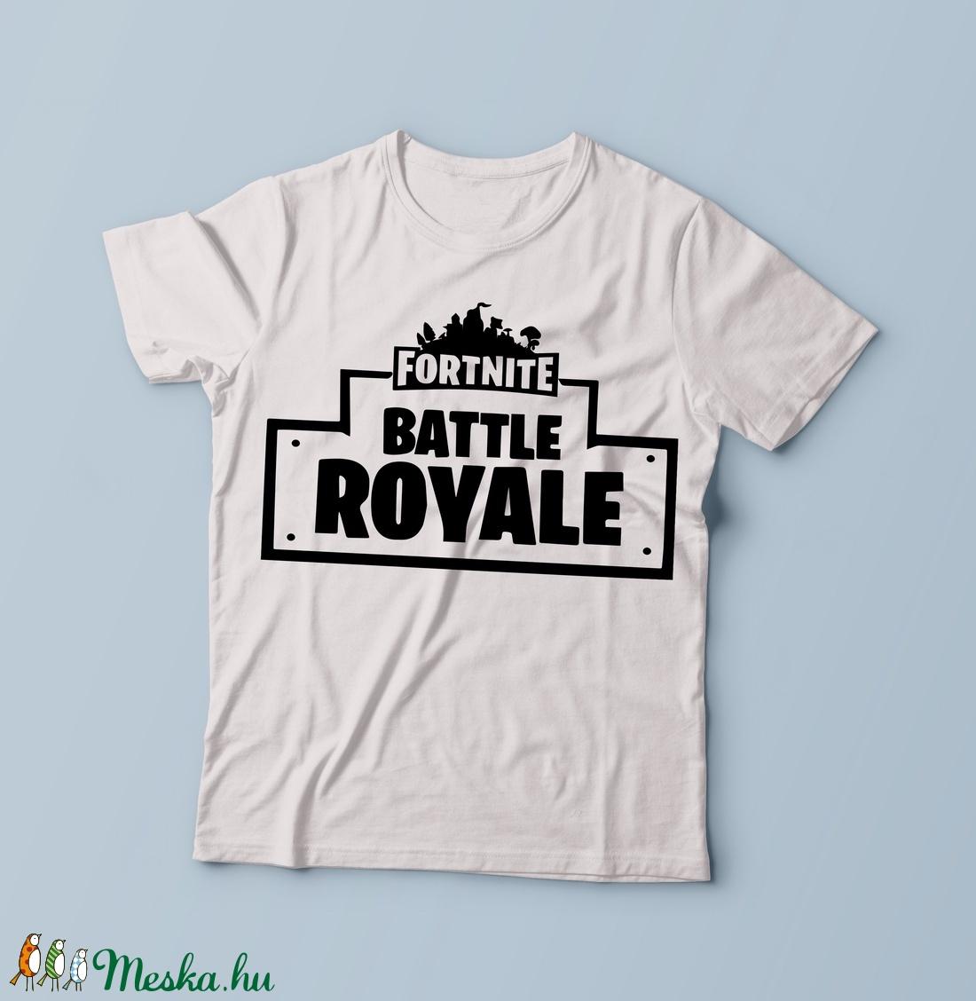 Fortnite feliratos póló 1ab81906eb