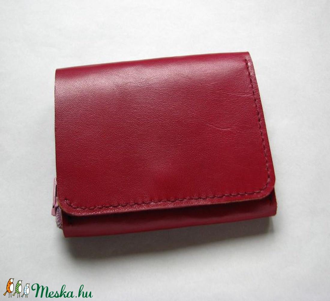 ... Bordó és mályva színű bőr pénztárca (Dettymoon) - Meska.hu ... b25a6bbb26