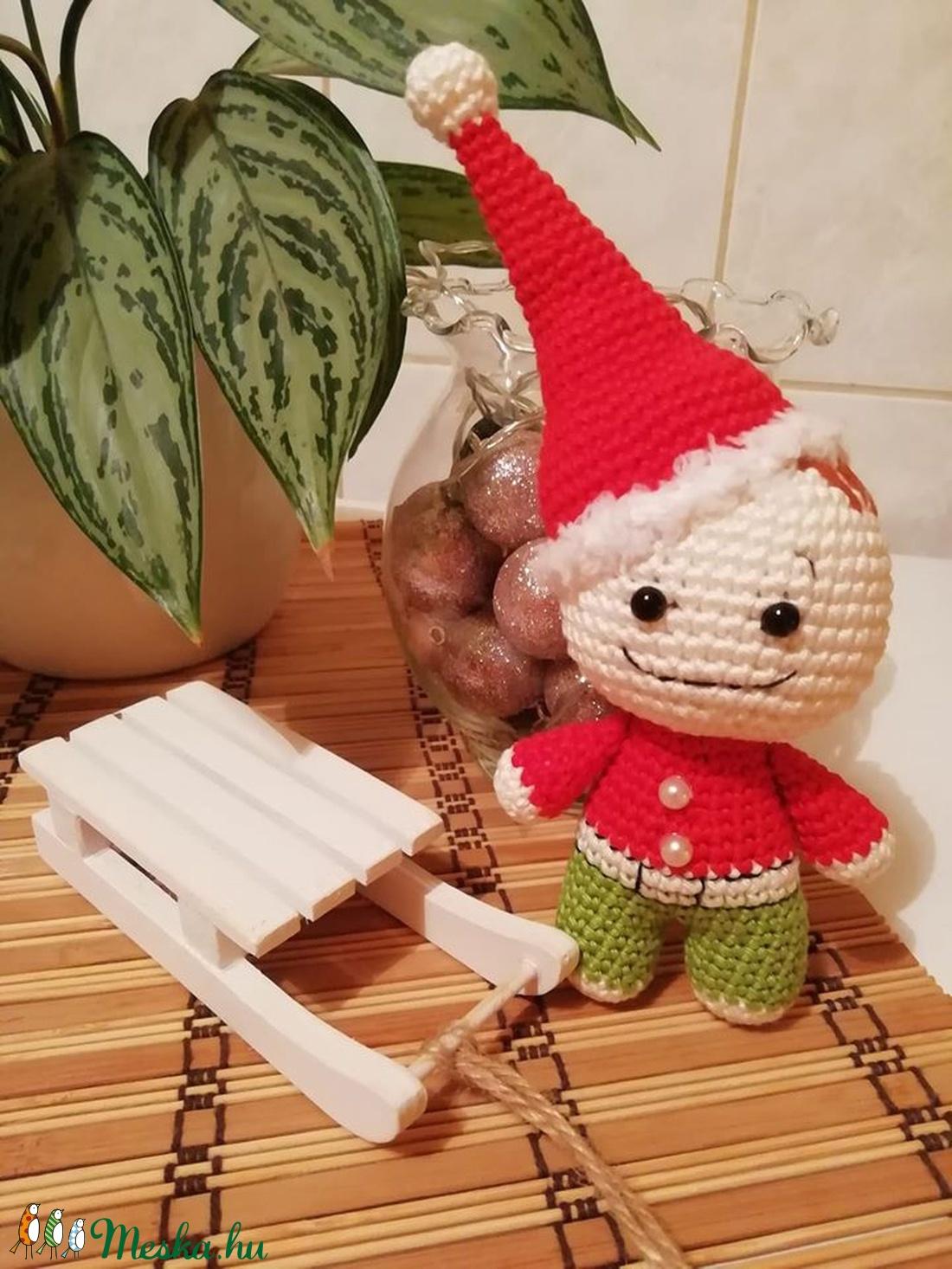 Huncut karácsonyi manó (Diana3021) - Meska.hu
