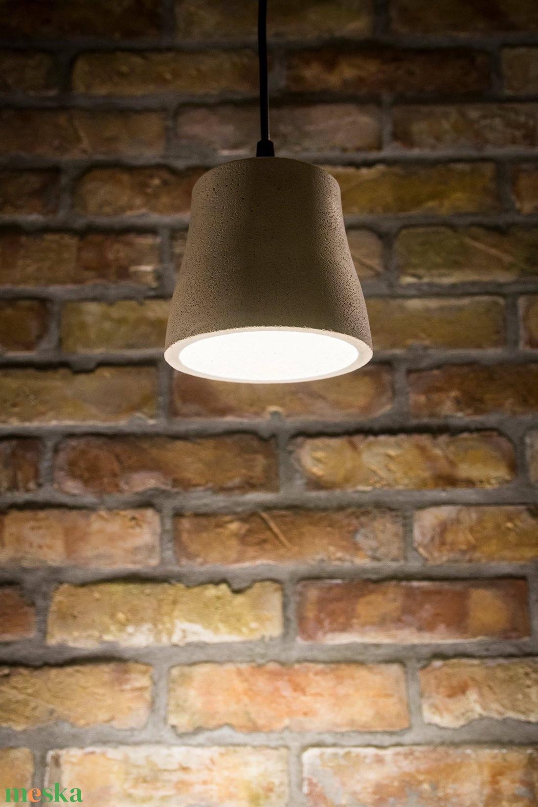 Egyedi beton lámpa, függesztett (dimethm) - Meska.hu