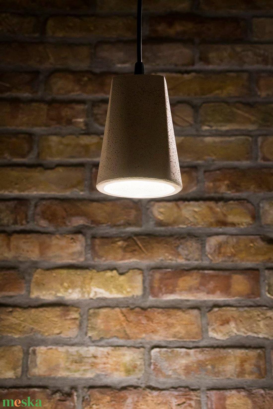 Design függesztett betonlámpa (dimethm) - Meska.hu