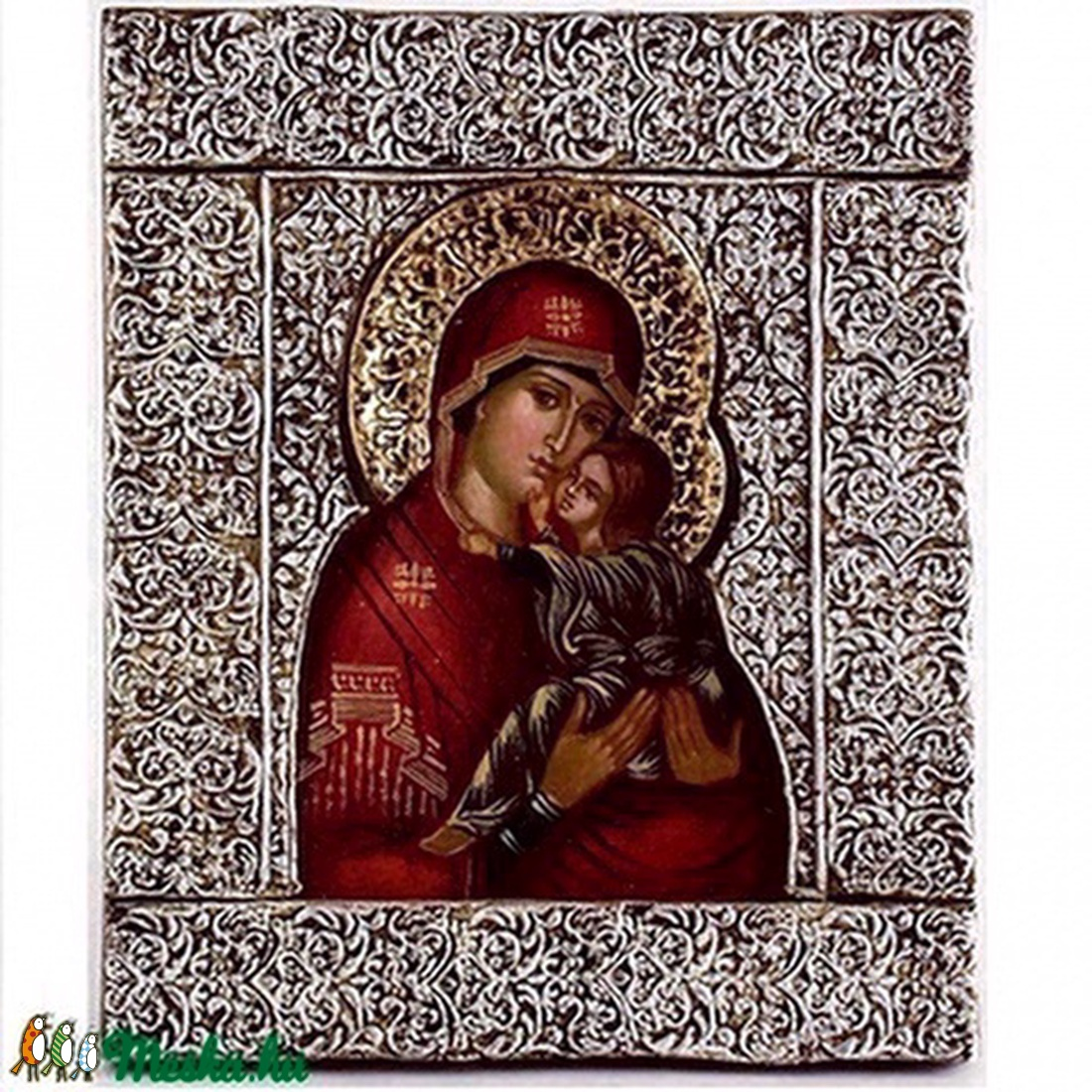 Szent Anna ikon  (diogenes) - Meska.hu