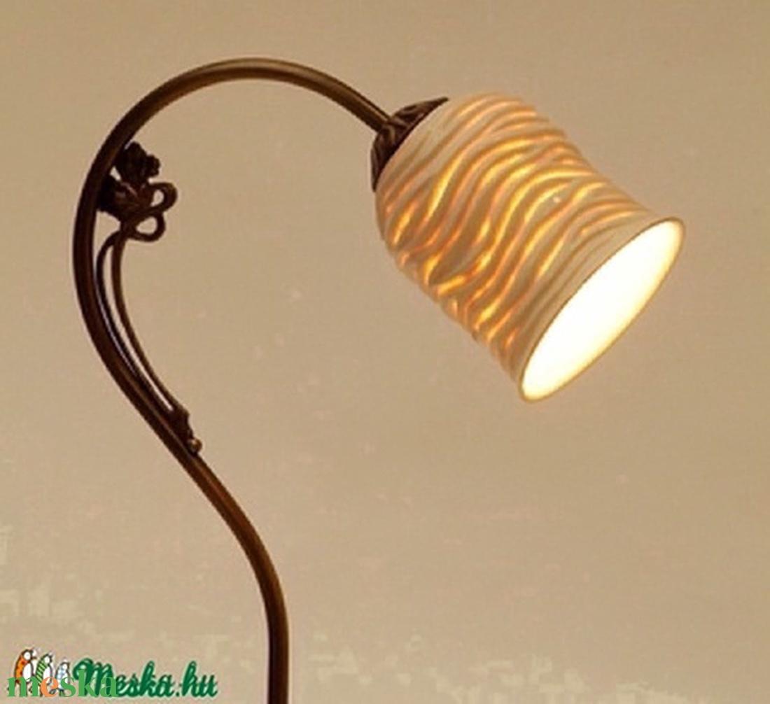 porcelán olvasó lámpa - otthon & lakás - lámpa - asztali lámpa - Meska.hu