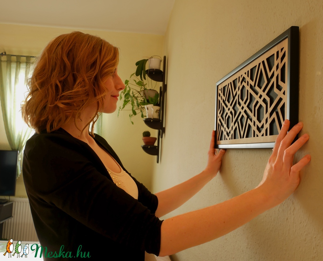 Polygon Home Decor - otthon & lakás - dekoráció - falra akasztható dekor - Meska.hu