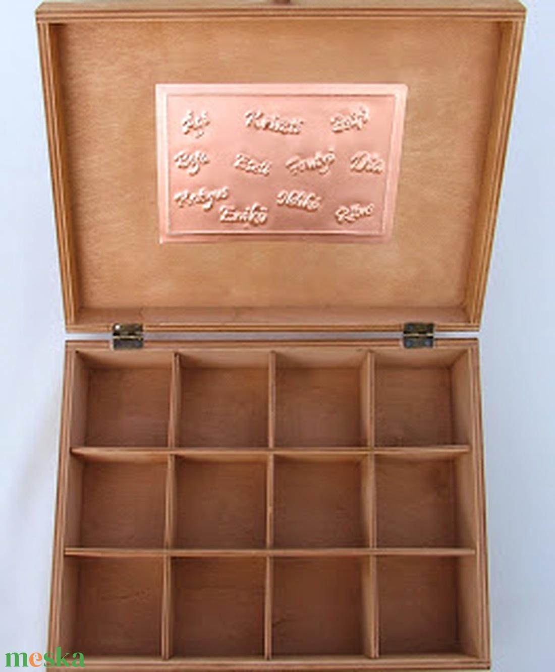 Nagy szívecskés esküvői doboz - egyedi felirattal rendelhető! - esküvő - emlék & ajándék - doboz - Meska.hu
