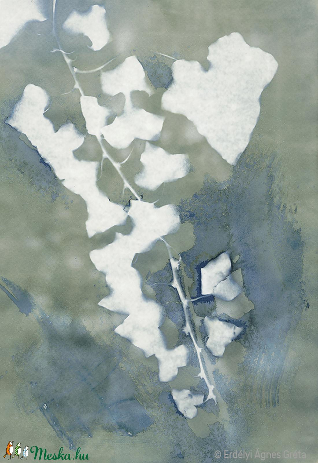 Borostyán - szignált giclée művészi nyomat (eagreta) - Meska.hu