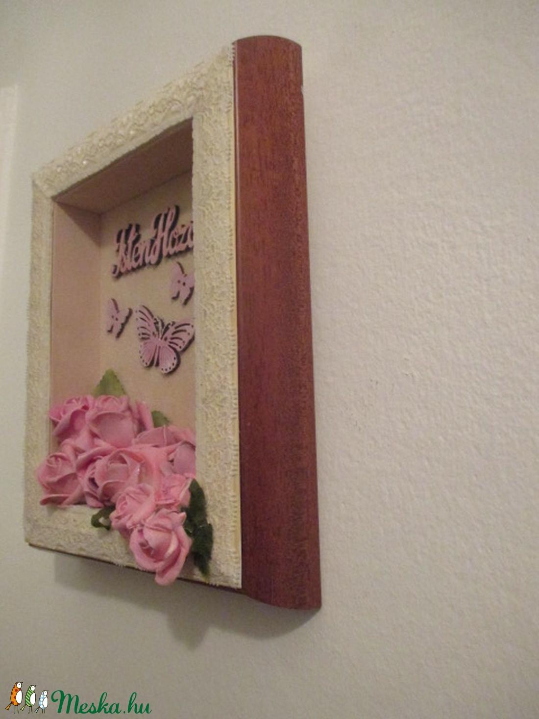 Isten hozott Vintage üdvözlő falidísz. - otthon & lakás - dekoráció - képkeret - Meska.hu