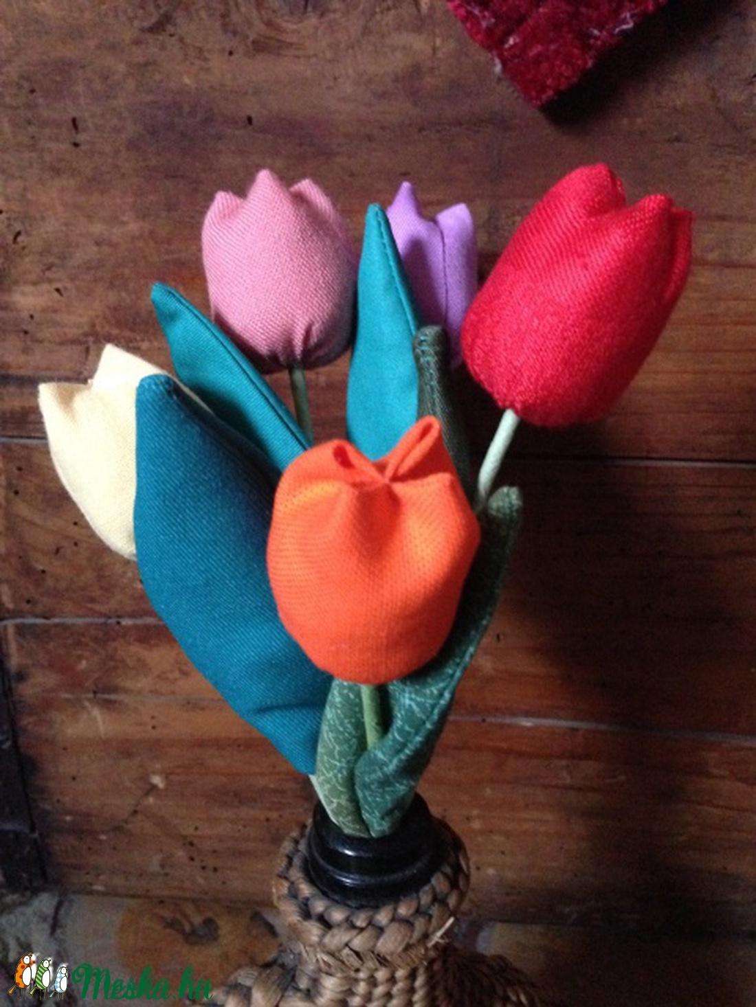 Textil tulipán (eggart) - Meska.hu 3e8c08ec9e