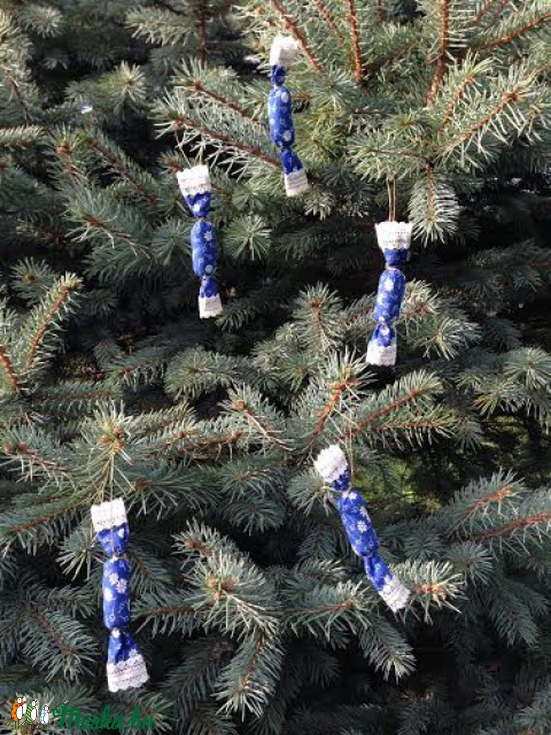 Szaloncukor - karácsonyfadísz (eggart) - Meska.hu 35e5d32a0b