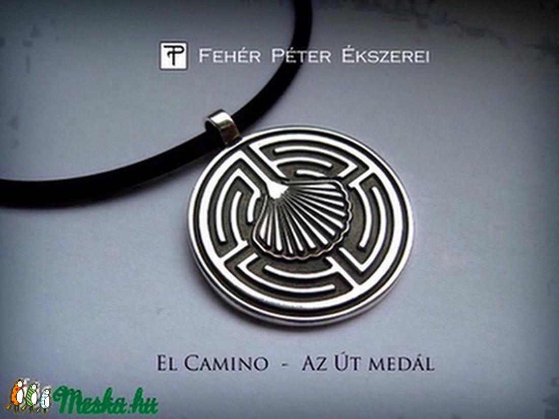 El Camino - az Út medál ezüstből  ( Rendelésre ) (egszeresz) - Meska.hu