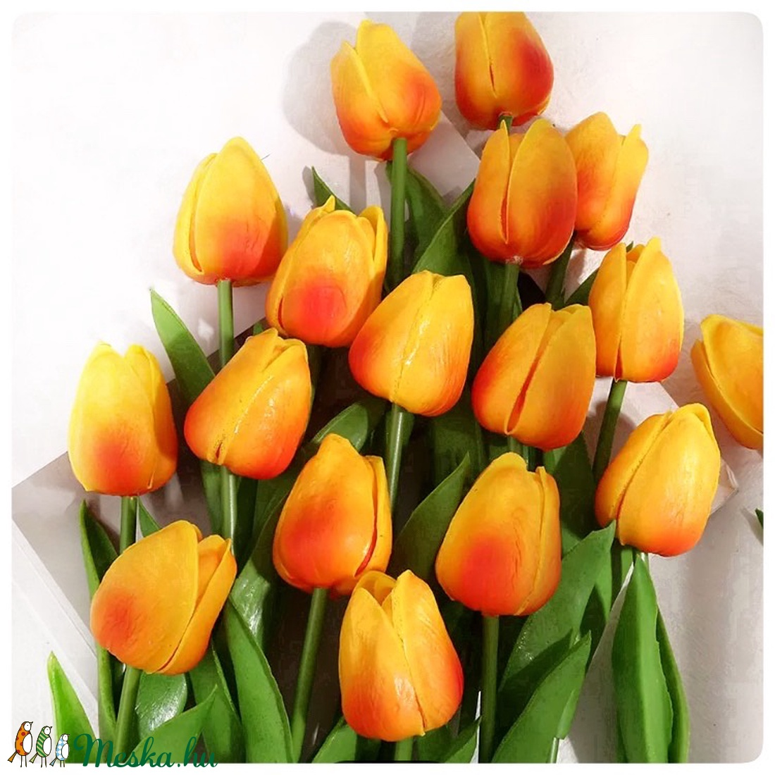Habgumi tulipán - otthon & lakás - dekoráció - csokor & virágdísz - Meska.hu