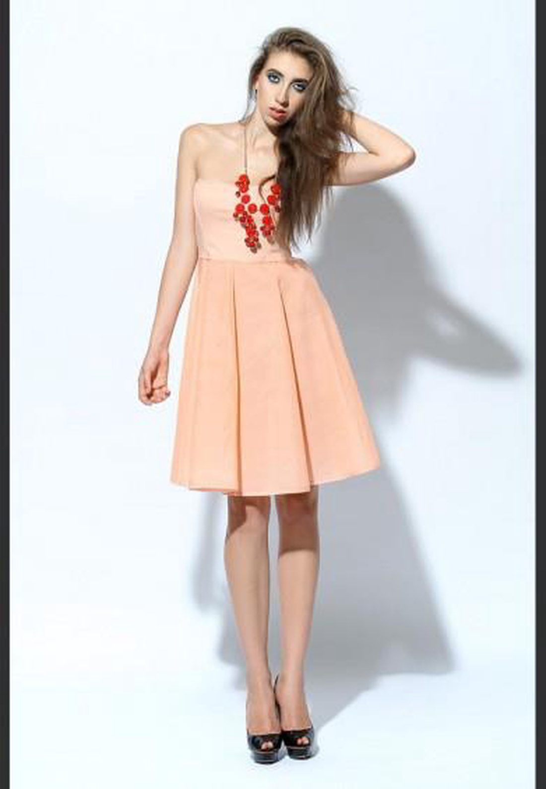 SALE! Barack színű női ruha (Eninied) - Meska.hu 83c06c080c