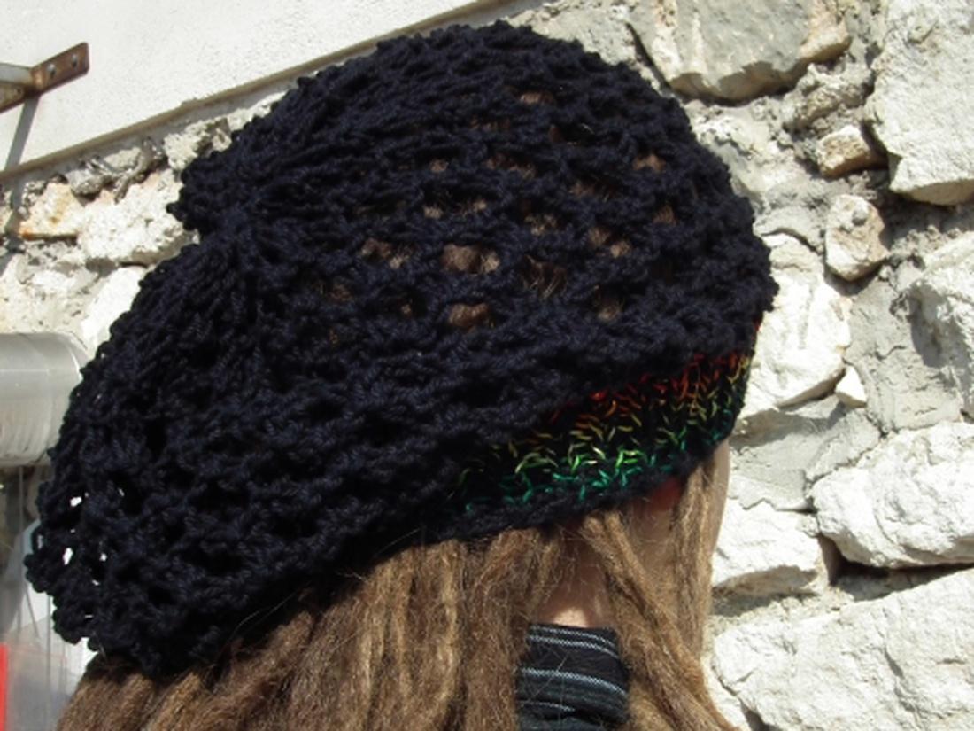 Raszta sapka - kötött - dreadlock cap (Erikadekor) - Meska.hu 0bb3284227