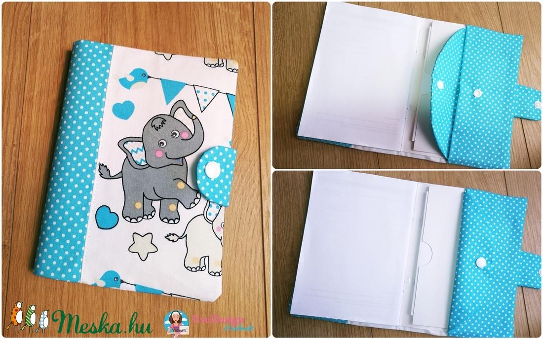 Kártyatartós Eü kiskönyv borító (EveDesign) - Meska.hu