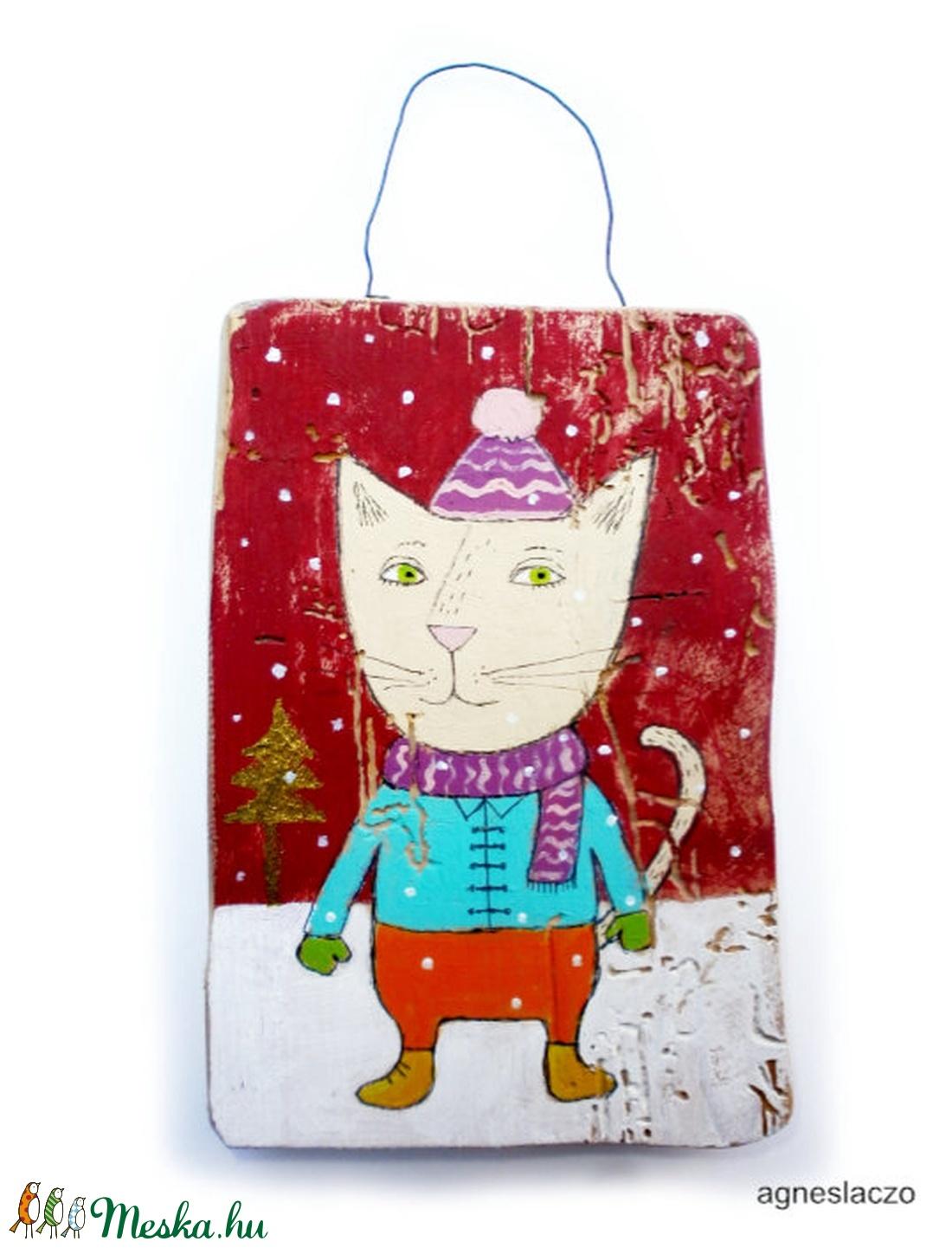 Téli macska  (FANYUVASZTO) - Meska.hu