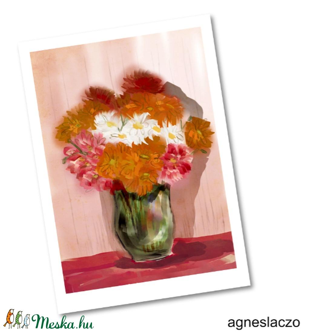 Egy csokor virág AKCIOS! (FANYUVASZTO) - Meska.hu