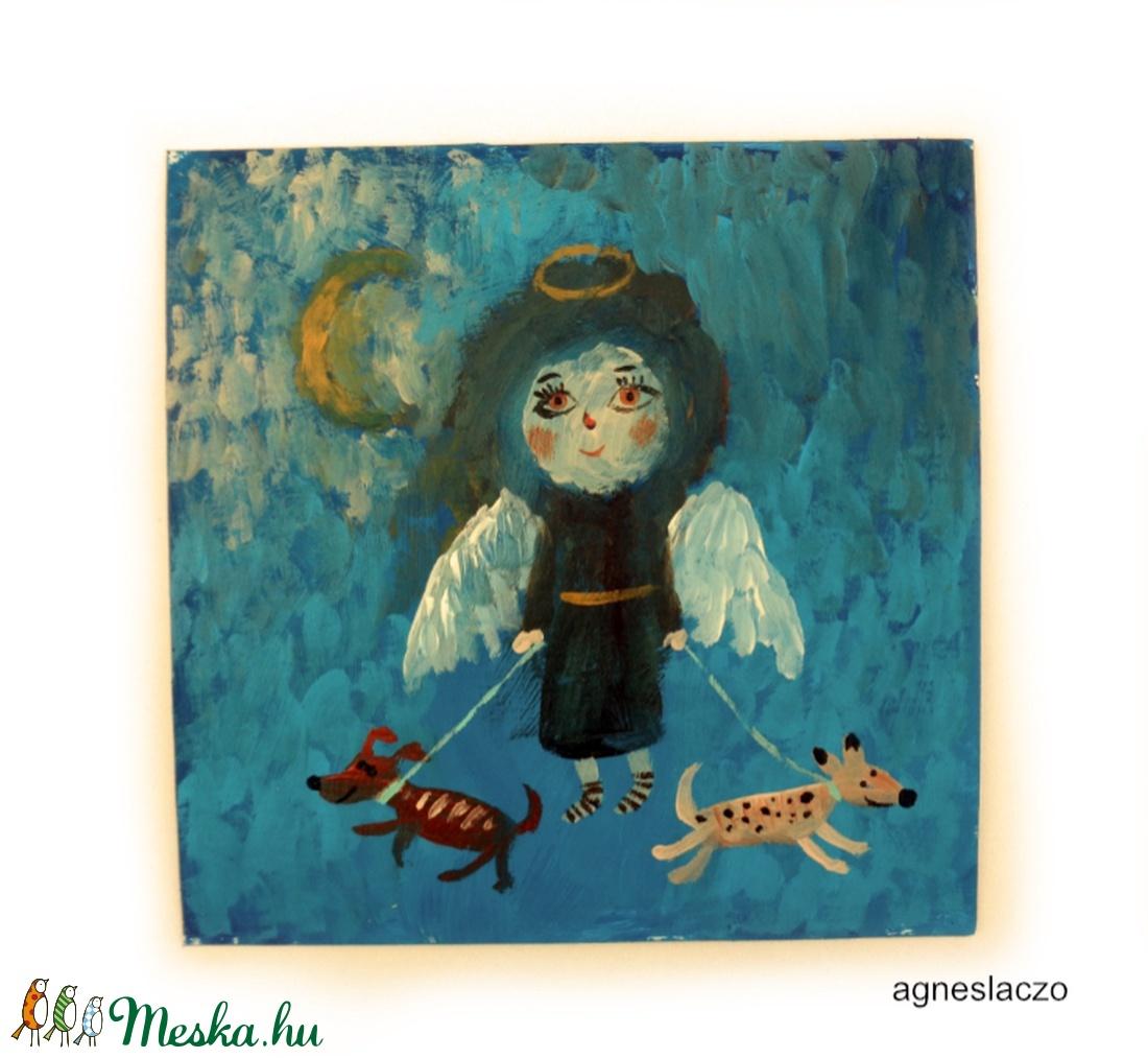 Angyal kiskutyákkal (FANYUVASZTO) - Meska.hu