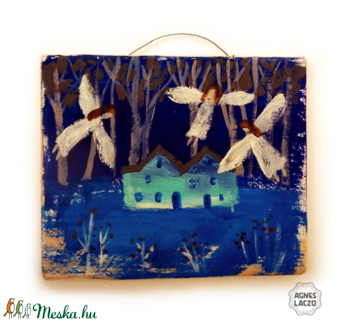 Csendes éj  - otthon & lakás - dekoráció - kép & falikép - Meska.hu