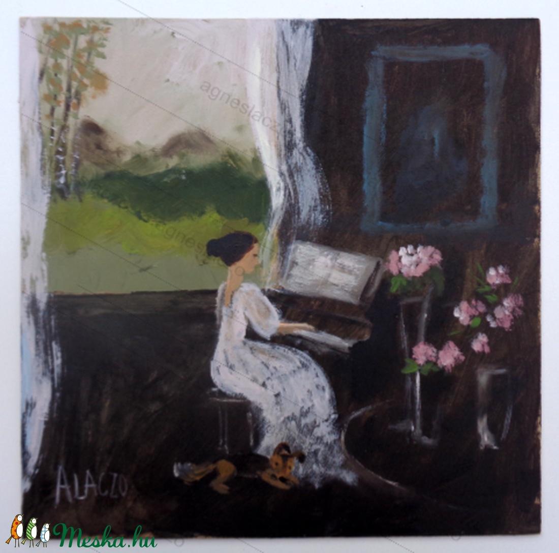 Zongora lecke - Meska.hu