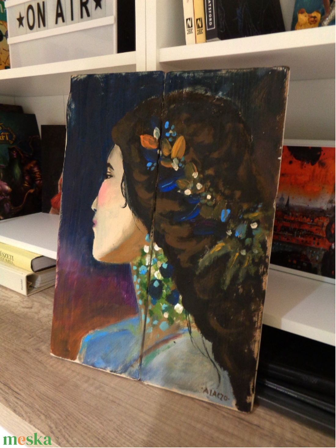 Beatrix  - művészet - festmény - akril - Meska.hu
