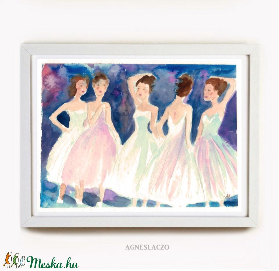 Táncosok (FANYUVASZTO) - Meska.hu