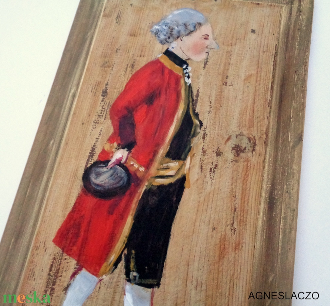 A gróf - otthon & lakás - dekoráció - falra akasztható dekor - Meska.hu