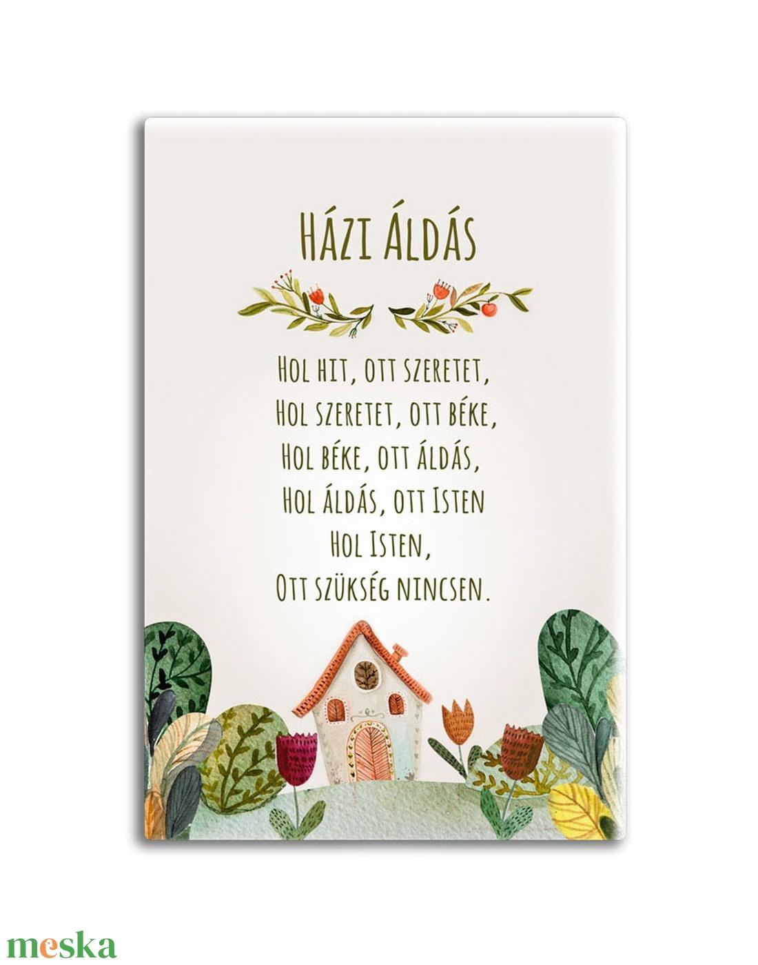 Házi áldás - otthon & lakás - spiritualitás & vallás - házi áldás - Meska.hu