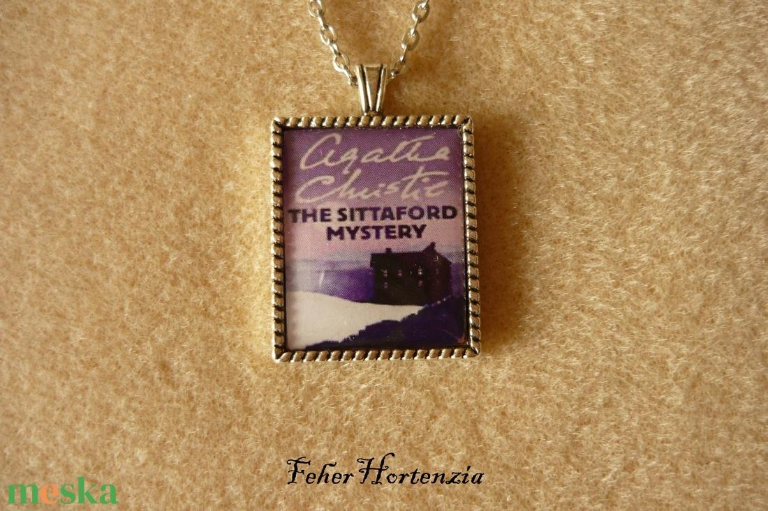 Agatha Christie: A Sittaford-rejtély (nyaklánc) - ékszer - nyaklánc - medálos nyaklánc - Meska.hu