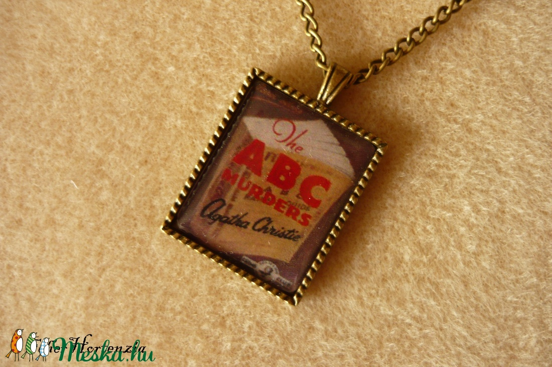 Agatha Christie: Az ABC gyilkosságok (bronz) - Meska.hu