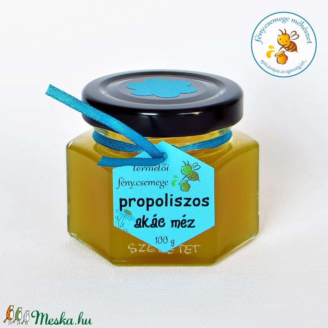 propoliszos akác méz 100 g (fenycsemege) - Meska.hu