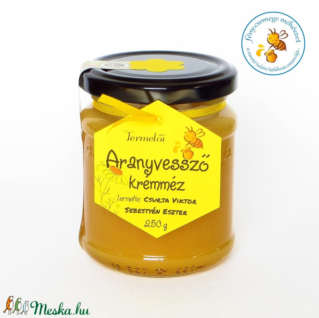 aranyvessző krémméz (fenycsemege) - Meska.hu