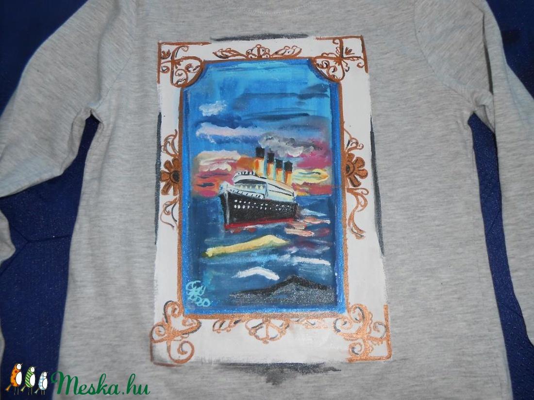 Titanic Kézzel festett kislány póló PÓLÓIMAT RENDELŐIM HÖZZÁK! (Fiffancsi)  - Meska.hu ... 3054abaadb