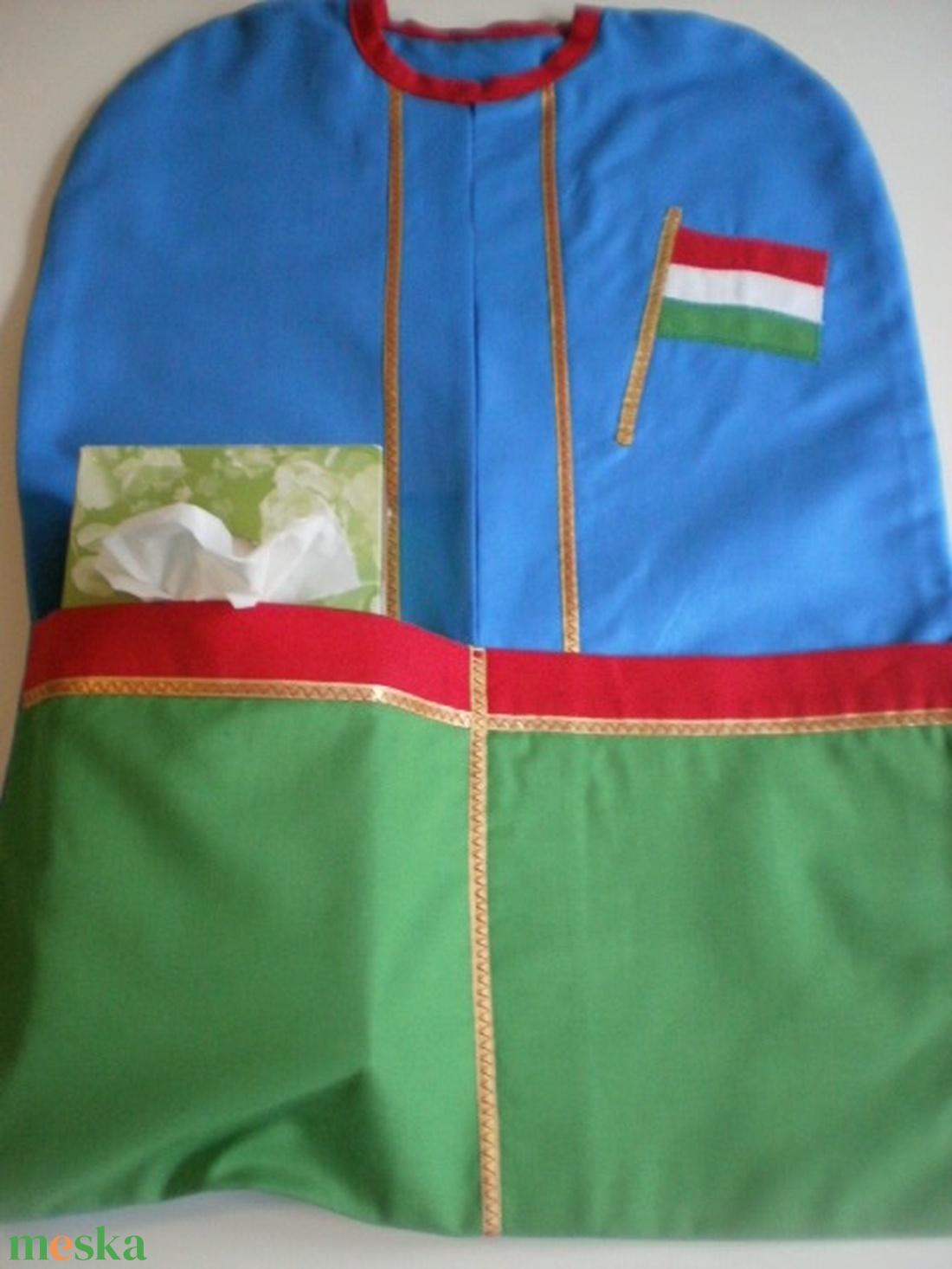 Királykék-zöld ovizsák szett zászló jellel - ovi- és sulikezdés - ovis zsák & ovis szett - óvodai szett - Meska.hu