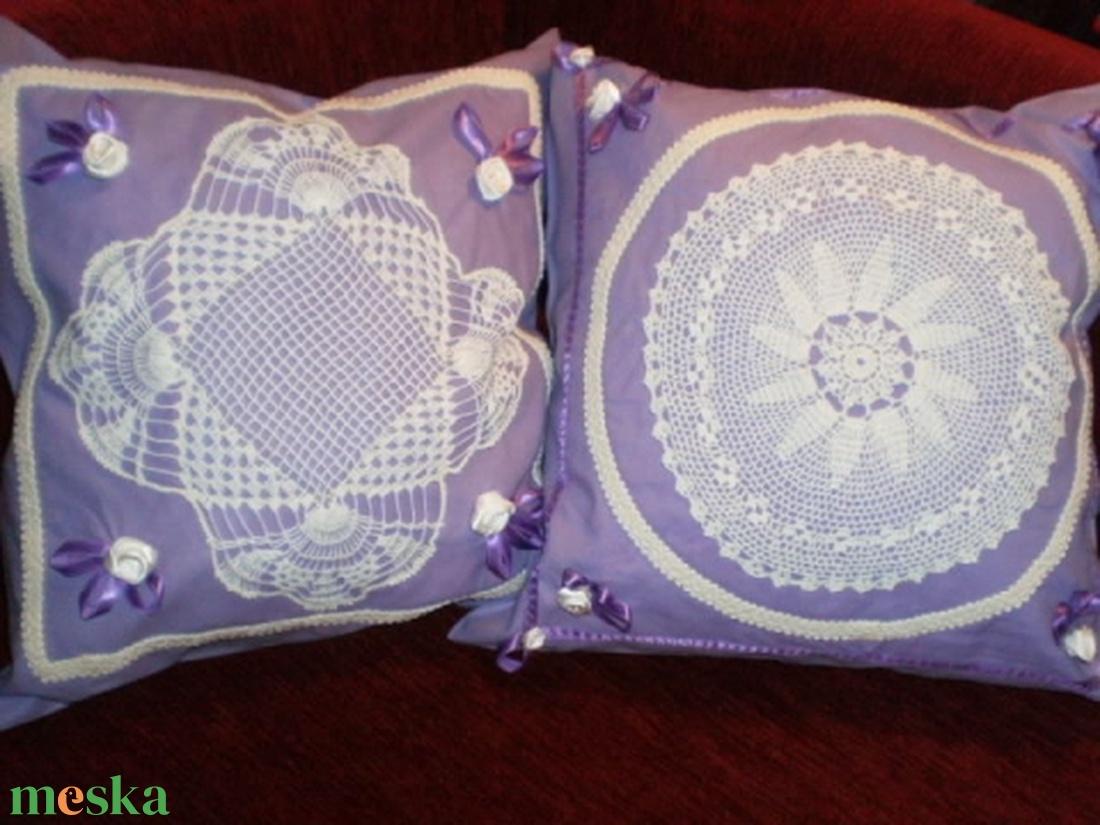Lady Lavender...Csipkés lila szatyor  - táska & tok - bevásárlás & shopper táska - shopper, textiltáska, szatyor - Meska.hu