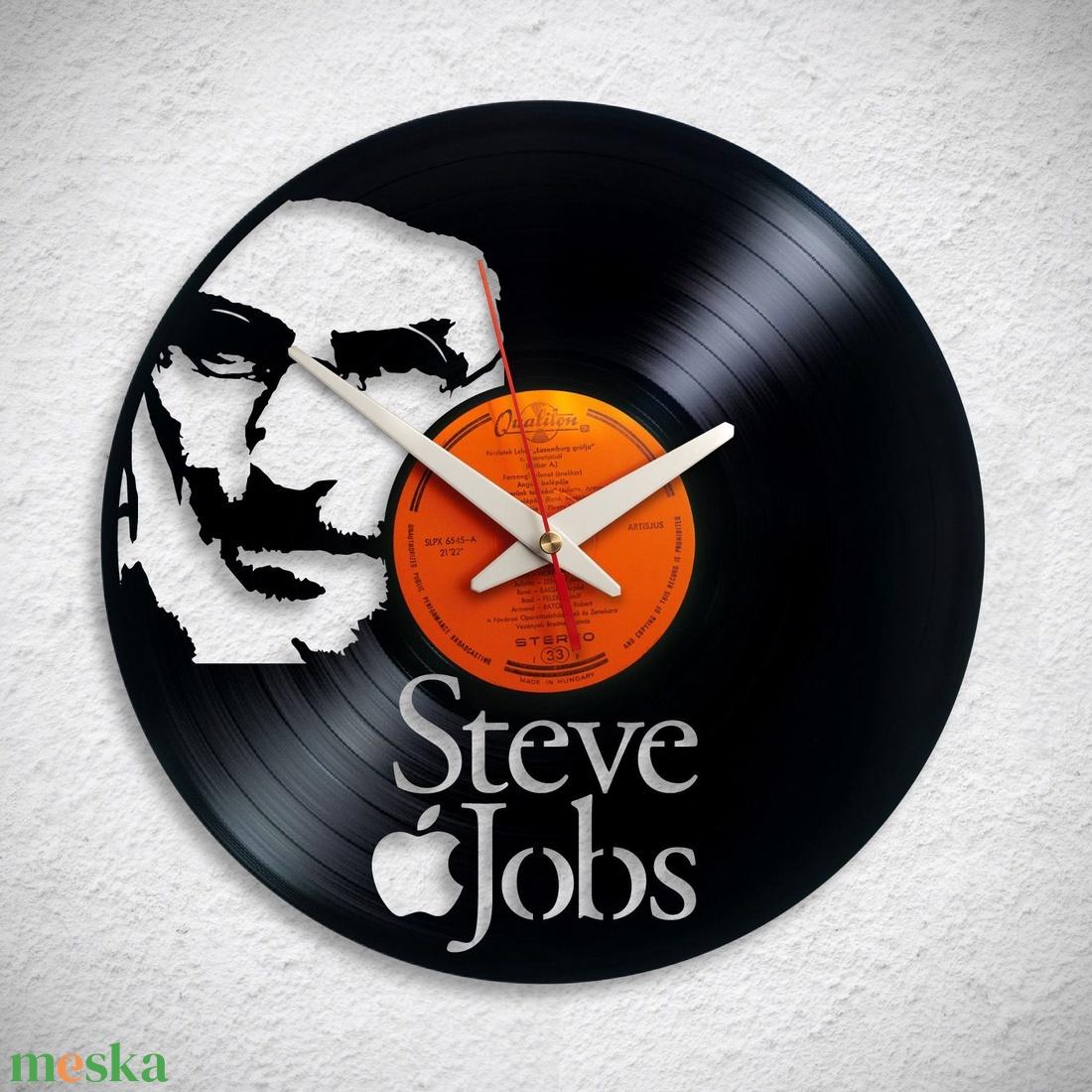 Steve Jobs - Bakelit falióra - Meska.hu