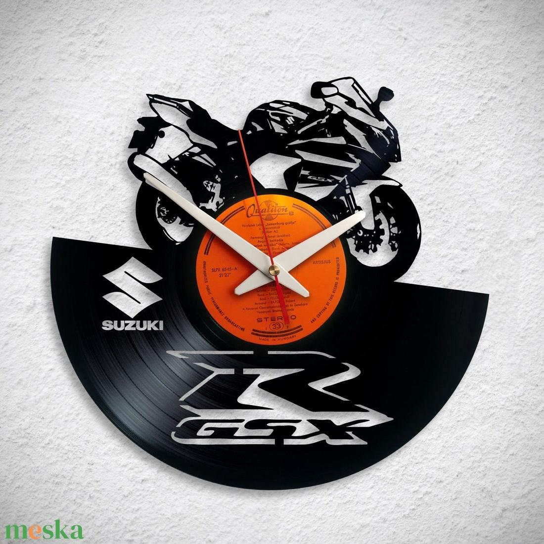Suzuki R GSX - Bakelit falióra - Meska.hu