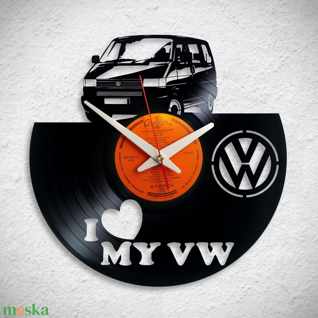 VW Transporter - Bakelit falióra - Meska.hu