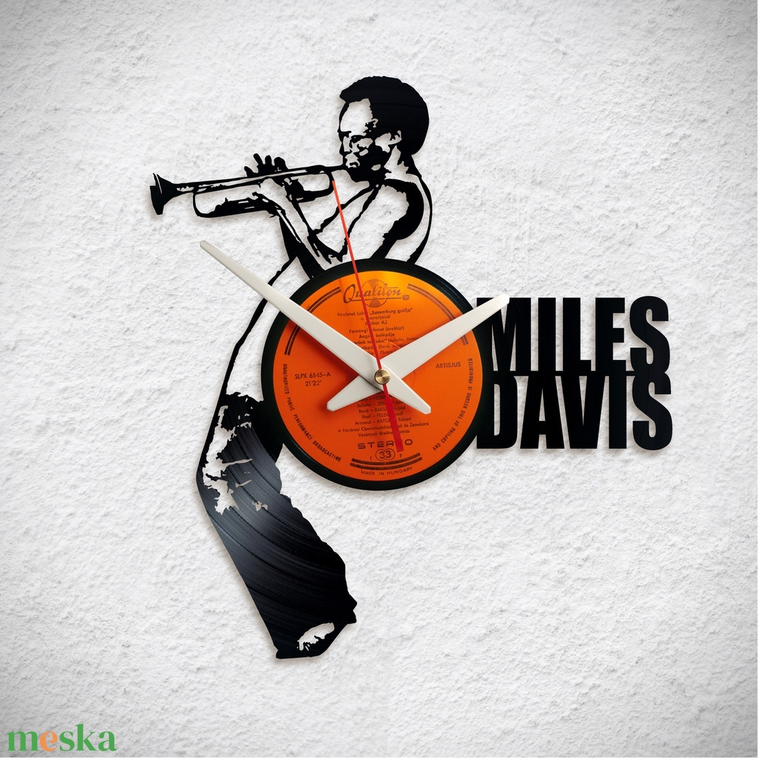 Miles Davis - Jazz - Bakelit falióra - Meska.hu